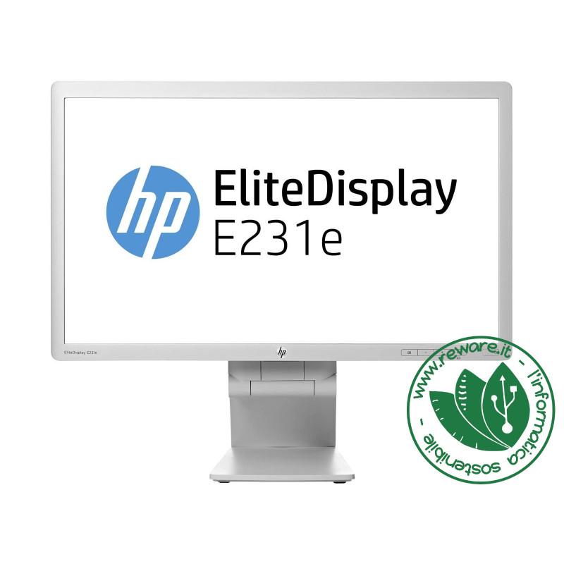 "Monitor LCD 23"" IPS HP EliteDisplay E231e FullHD 1920x1080 VGA DVI DisplayPort"