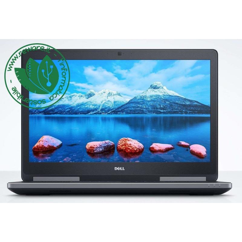 "Portatile Dell 7510 15"" FHD i7-6820HQ 16Gb SSD 256Gb+2Tb Quadro M2000M W10Pro"