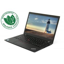 "Portatile Lenovo ThinkPad t470s Core i5-6300u 14"" FHD 8Gb SSD 256Gb usb3 W10Pro"