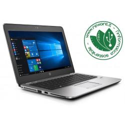 """Portatile HP EliteBook 725 G4 AMD A8-9600B 12"""" 8Gb SSD 128Gb usb3 W10 Home"""