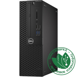 PC desktop Dell 3050 SFF Intel Core i5-7500 8Gb SSD 240Gb dvdrw usb3 Win10Pro