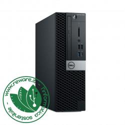 PC Desktop Dell Optiplex 5060 SFF Core i5-8500 8Gb SSD 256Gb dvdrw Win10Pro