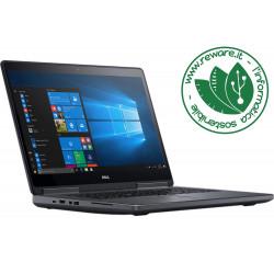 """Portatile Dell Precision 7720 17"""" FHD i7-7920HQ 64Gb SSD 1Tb Quadro P5000 W10Pro"""