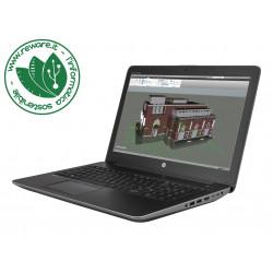 "Portatile HP Zbook 15 G4 15"" FHD i7-7820HQ 16Gb SSD 256Gb Quadro M1200M W10Pro"