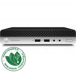 HP ProDesk 400 G3 mini pc Core i5-7500T 8Gb SSD 256Gb usb3 Win10Pro