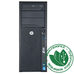 Workstation HP Z420 Xeon E5-1620 16Gb SSD 256Gb +1Tb Quadro K2000 dvdrw Win10Pro