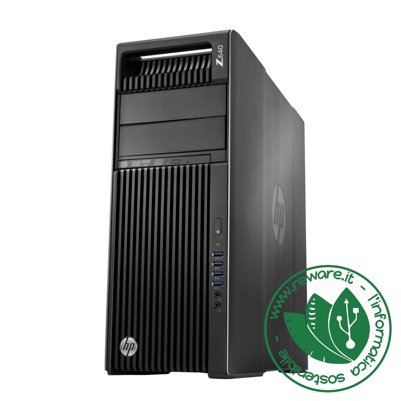 Workstation HP Z640 2x Xeon E5-2650v4 64Gb SSD 512Gb Quadro P2000 W10 Pro