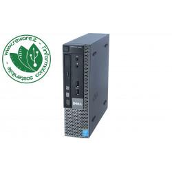 Dell 9020 USFF Intel Core i5-4570S 8Gb SSD 240Gb dvdrw usb3 Windows 10 Pro