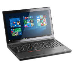 "Portatile Lenovo ThinkPad T550 i5-5200U 15.6"" 8Gb SSD 256Gb usb3 Win10Pro"